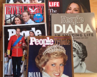 Royal Family Magazine Set of 8