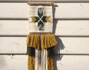 S A L E: Handwoven wall hanging - 'Sherwood Forest'