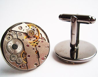 Steampunk Cufflinks 20mm (0,8 inch)