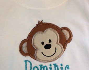 Personalized Monkey Shirt