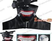 Tokyo Ghoul Ken Kaneki cosplay costume mask