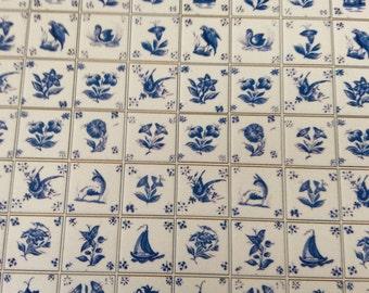 Dollhouse Delft Tile Sheet