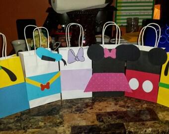 Custom Goodie Bags, 10 pack.