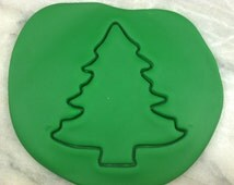 Christmas Tree Cookie Cutter Outline - CHOOSE Your OWN SIZE - Fast Shipping!