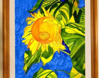 Bright Sunshine Sunflower