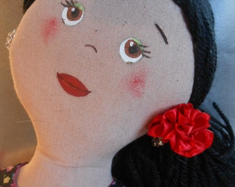Flemish cloth doll