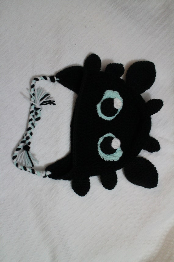 Gifted Paws Toothless Hat Pattern
