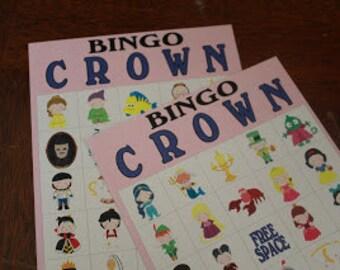 Princess Bingo Game Download and Printable