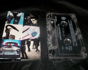 U2 ACHTUNG BABY Cassette Tape 1991
