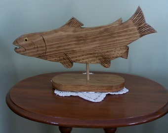 Table Mount Fish