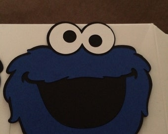 Cookie Monster Die Cut- pack of 6