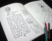The Hot Guy Initiative: A PG-13 Coloring and Activity Book