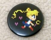 Magical Girl Pixel Buttons