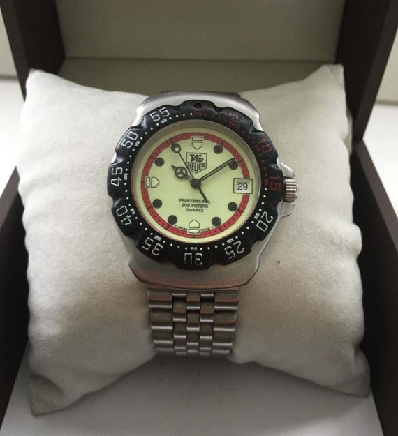 Midsize Stainless Steel Tag Heuer Formula 1 Lum Dial Watch