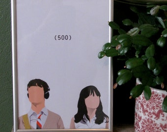 500 Days of Summer movie poster - A4 print