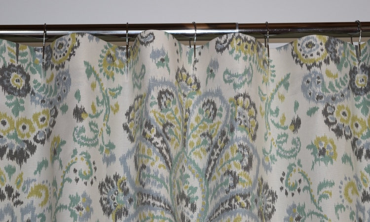 Custom Fabric Shower Curtain Stall 54 X 78 72 X 84 By Homeandhome