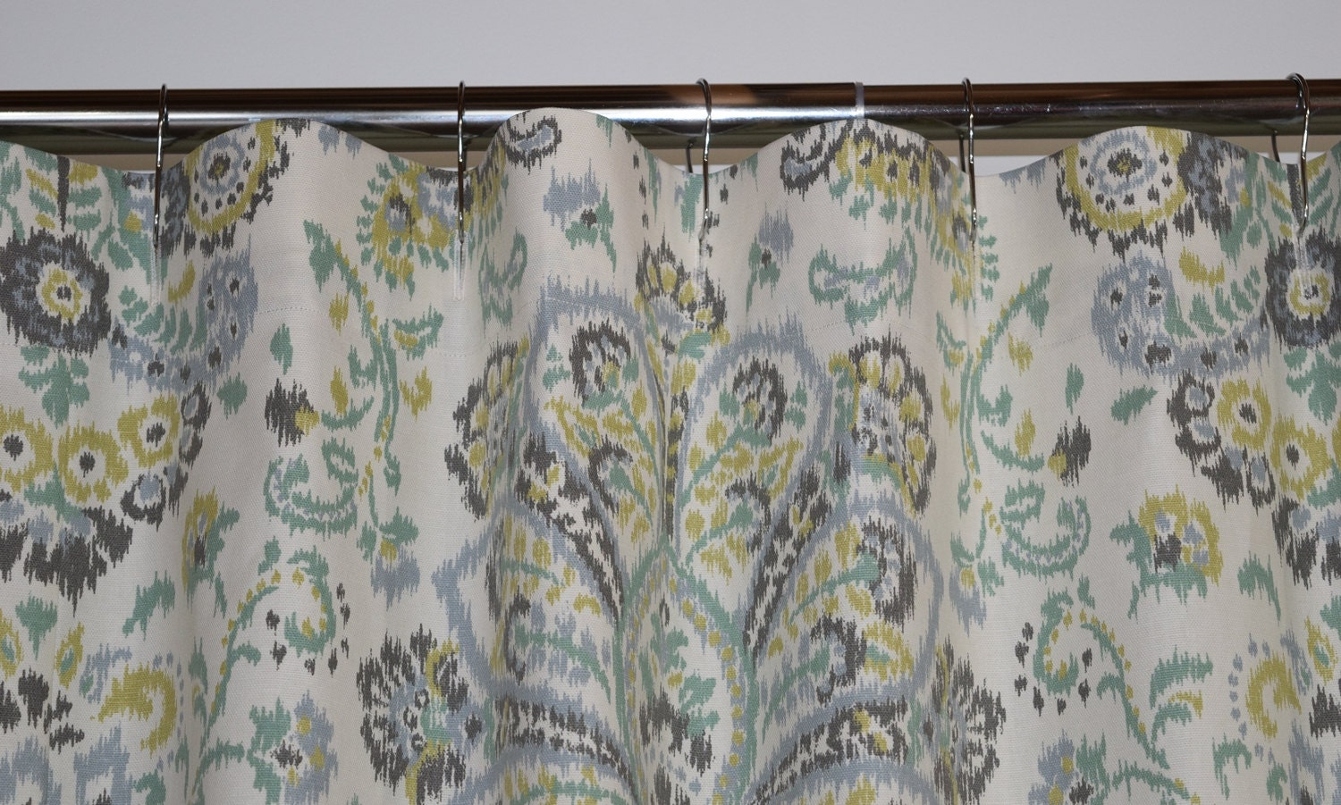 Wide Shower Curtain 108 X 84 Carlton Fabric Shower Curtain Standard 108 Quot Wide Or 84 Shower