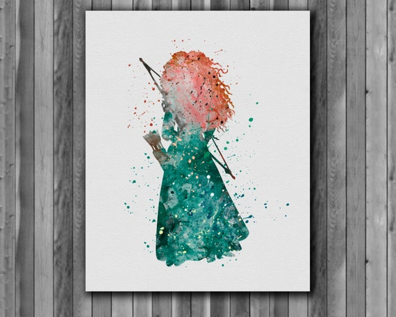 brave watercolor by bezawesome - photo #14
