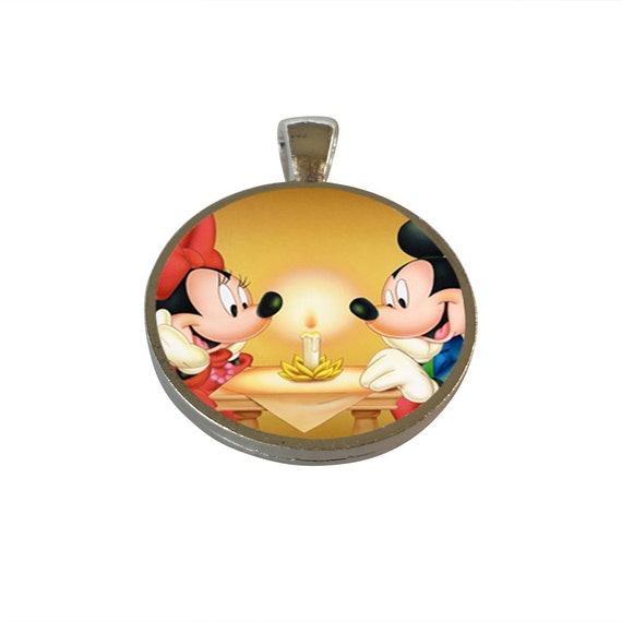 Disney Mickey Amp Minnie Mouse Inspired Pendant Party By CharmNation