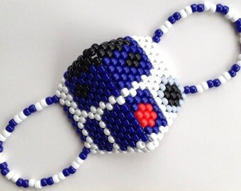 Star Wars R2D2 Kandi Mask (subzero or rounded)