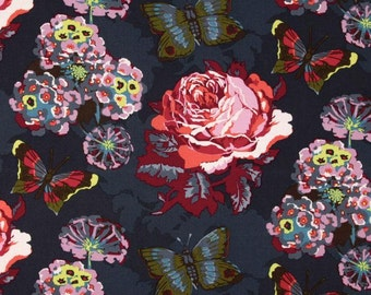 Anna Maria Horner LouLouThi Clippings Passion Fabric By the 1 yard 100% cotton