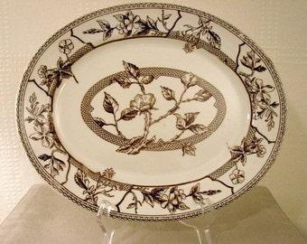 English Large Oval Platter