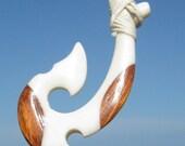 Maori Hei Matau Fish hook Necklace