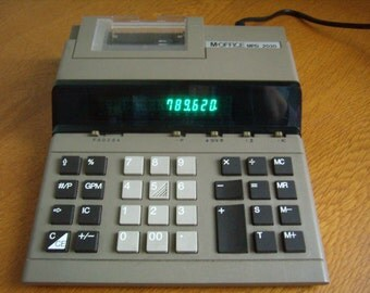 Vintage electronic calculator M - Office MPD 2030, 1980