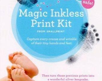 Handprint kit - Footprint kit - Mess Free Print Kit - Baby Shower - Newborn Footprint - baby footprint - New baby memento