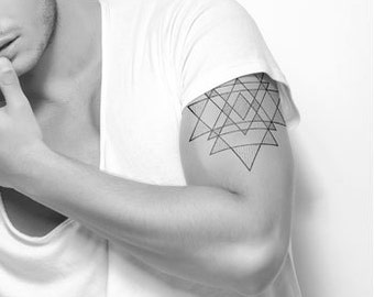 Temporary tattoo 'Triangle'