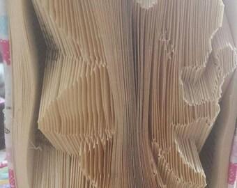 Fairy book folding pattern