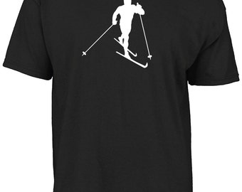 Cross country, XC ski t-shirt