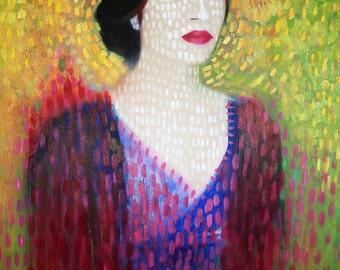 Portrait of Artist 2011, Artist Print