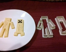 Game Inspired MC Cookie Cutters