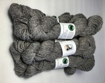 Alpaca Yarn, Sport Weight, Silver Grey