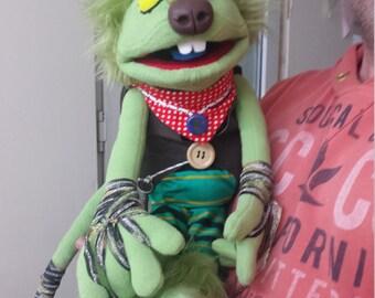 100% custom professional puppet
