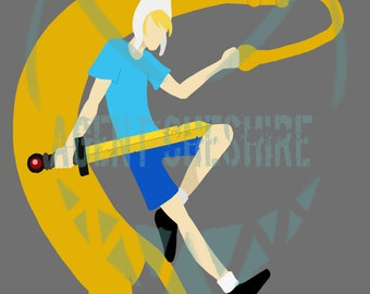 Finn and Jake Adventure Time Print