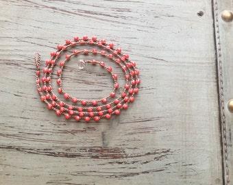 Beah boho wrap bracelet or necklace Boho Beach Glam/ Beach jewelry/waterproof/versatile