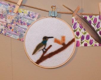 Hummingbird Needle Felting