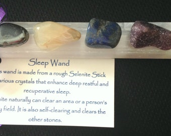 Selenite Crystal Sleep Wand