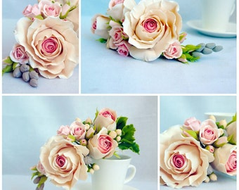 wedding supplies - flower cake topper, cake accessories, wedding cake toppers