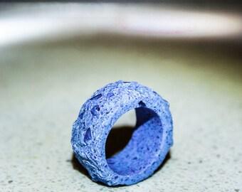 Raw stone ring - free shipping
