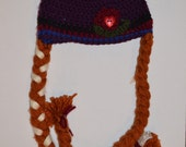 Crochet Frozen Anna Hat