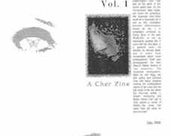 Superpak Vol. 1, A Cher Zine (1)