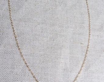 Tourmaline Necklace - Pink Tourmaline Necklace - Black Tourmaline Necklace - Green Tourmaline Necklace - Tiny Tourmaline Gold Necklace