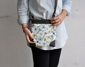 CLEARANCE - crossbody bag, messenger bag, leather bag, foldover clutch