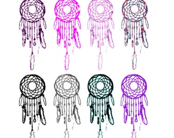 Dreamcatcher clipart etsy studio for Dream catcher graphic