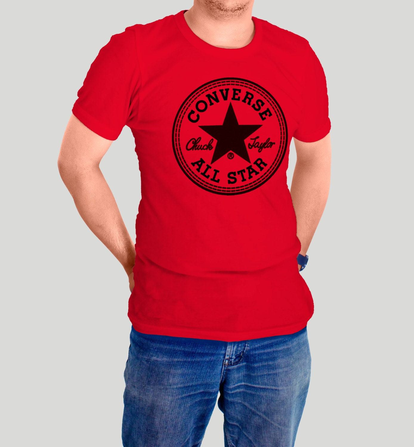Converse all star t shirt chuck taylor t shirts classic for All star t shirts