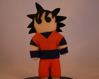 Goku Felt Plushie