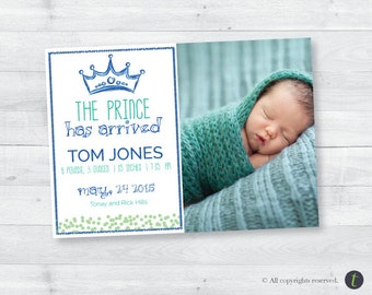 Prince Birth Announcement